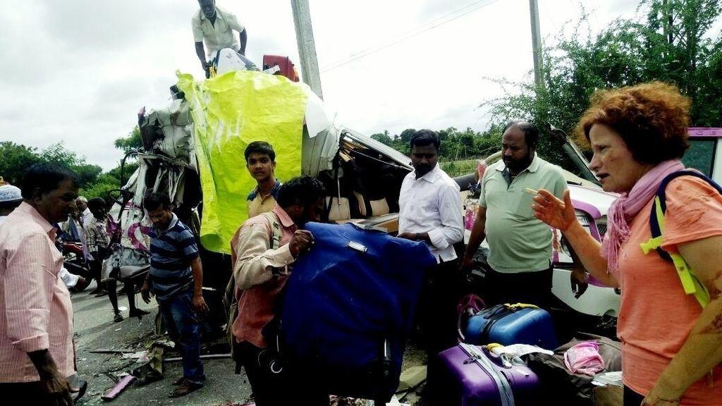 Las imágenes del accidente en la India