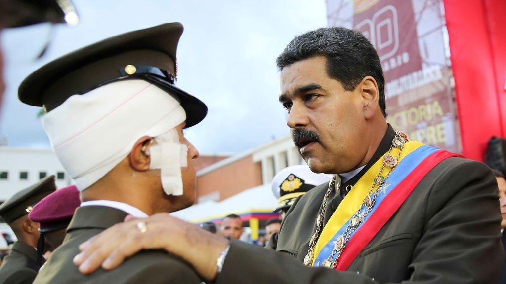 """Maduro agradece el """"importante papel de la Guardia Nacional Bolivariana para la paz"""""""