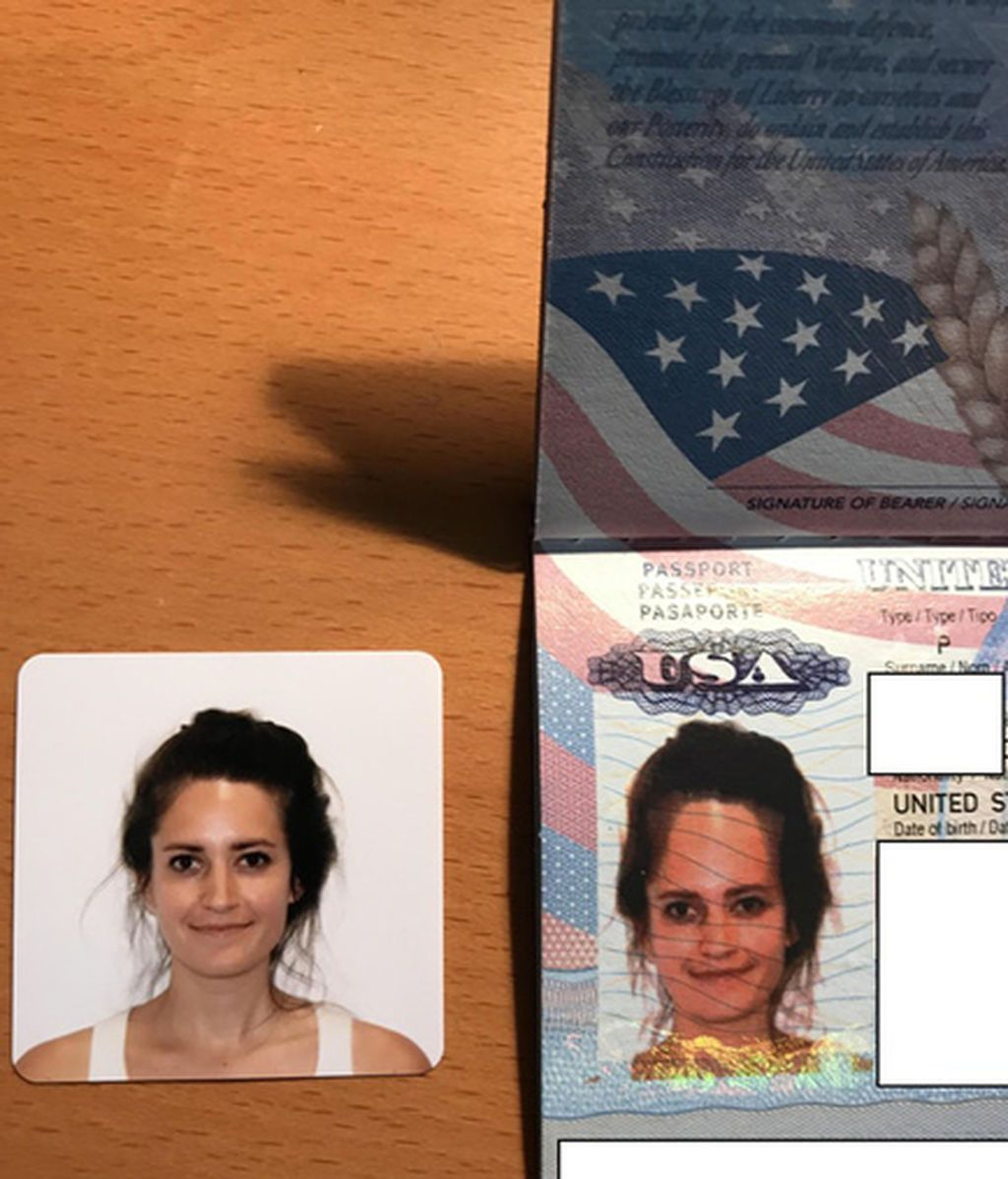 Pasaporte deforme