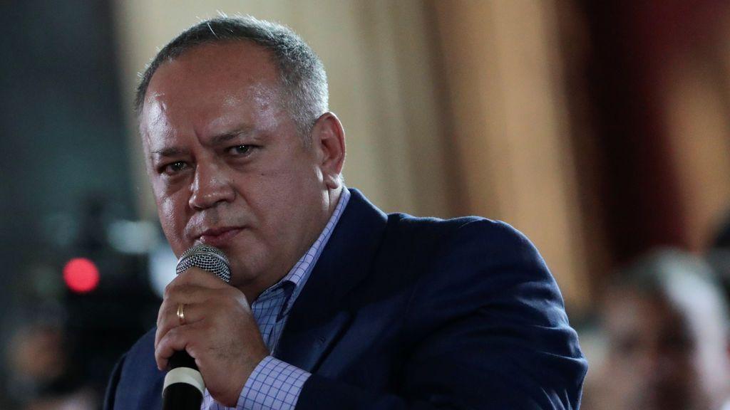 """Cabello denuncia un """"ataque terrorista"""" contra el cuartel de los militares sublevados en Venezuela"""