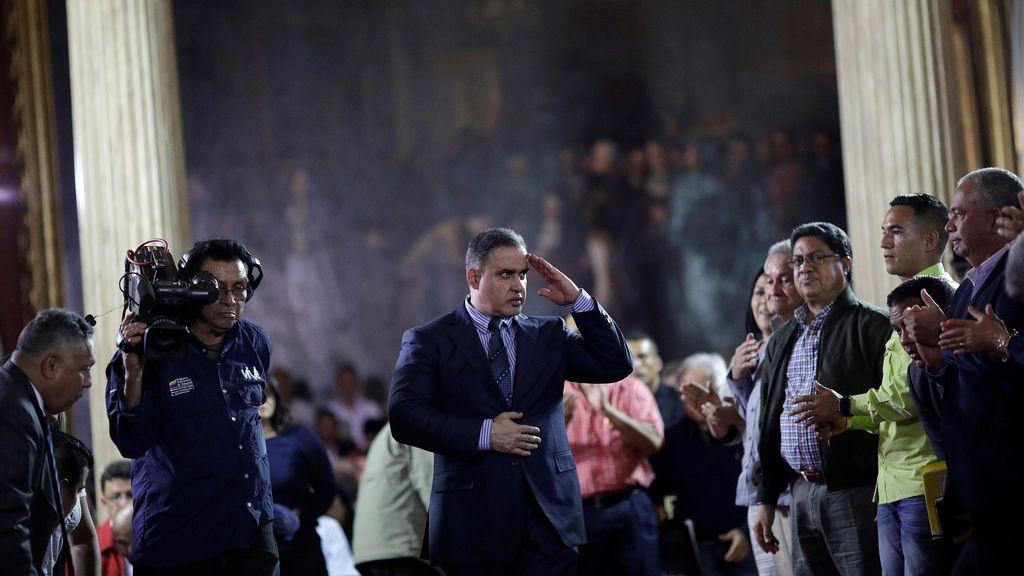 """El nuevo fiscal general de Venezuela,  Tarek William Saab, asegura que el país vive una situación de """"asedio y amenazas"""""""