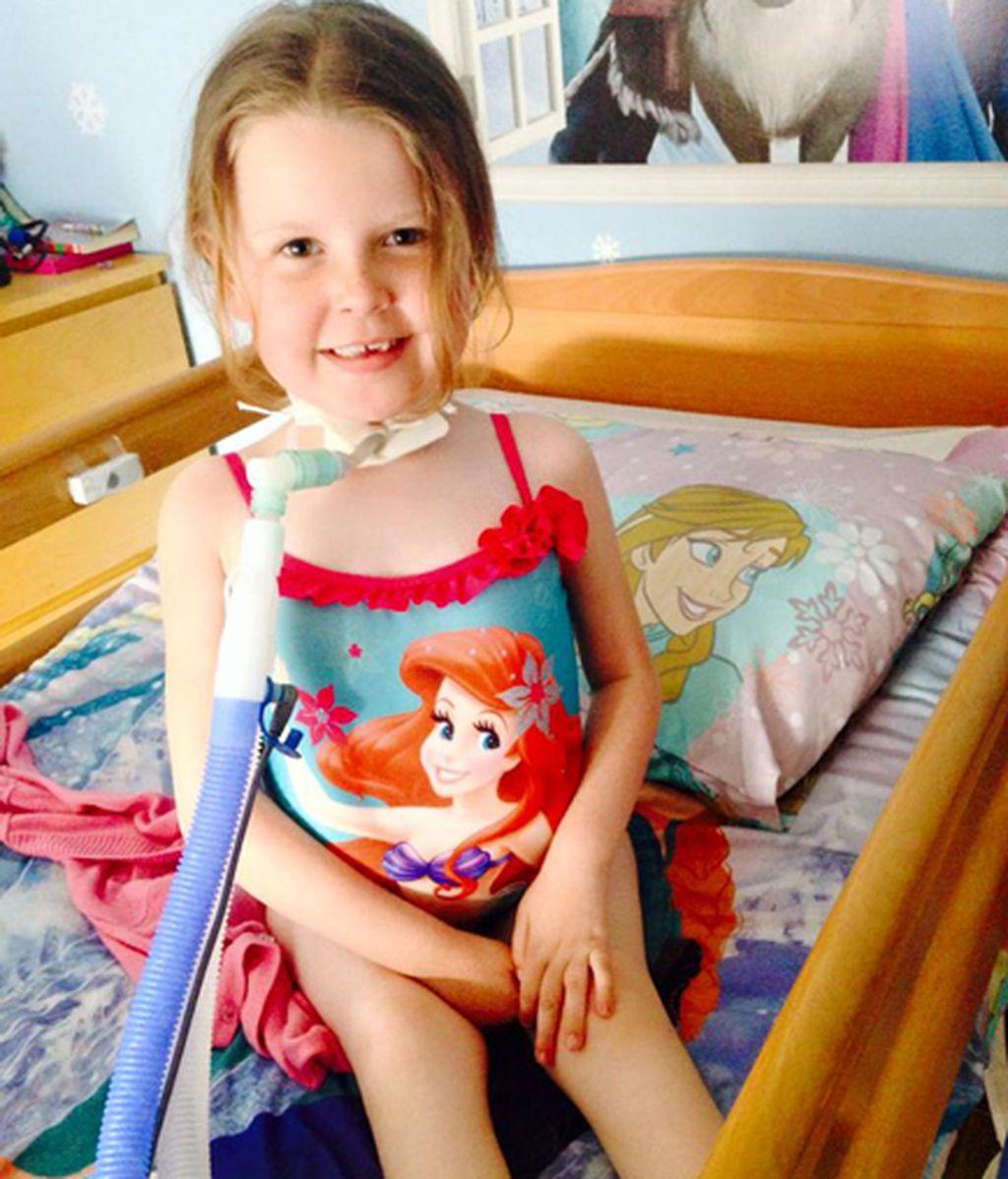 No pueden afrontar la factura de la luz del respirador que mantiene viva a su hija