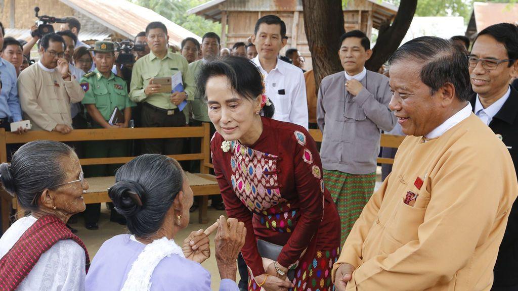 Conferencia de Paz en Birmania