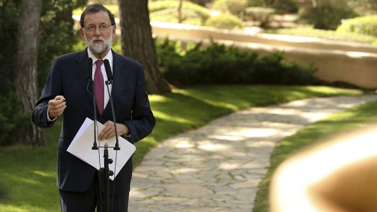 """Rajoy recurrirá la ley del referéndum: """"Es una patada al sistema democrático"""""""