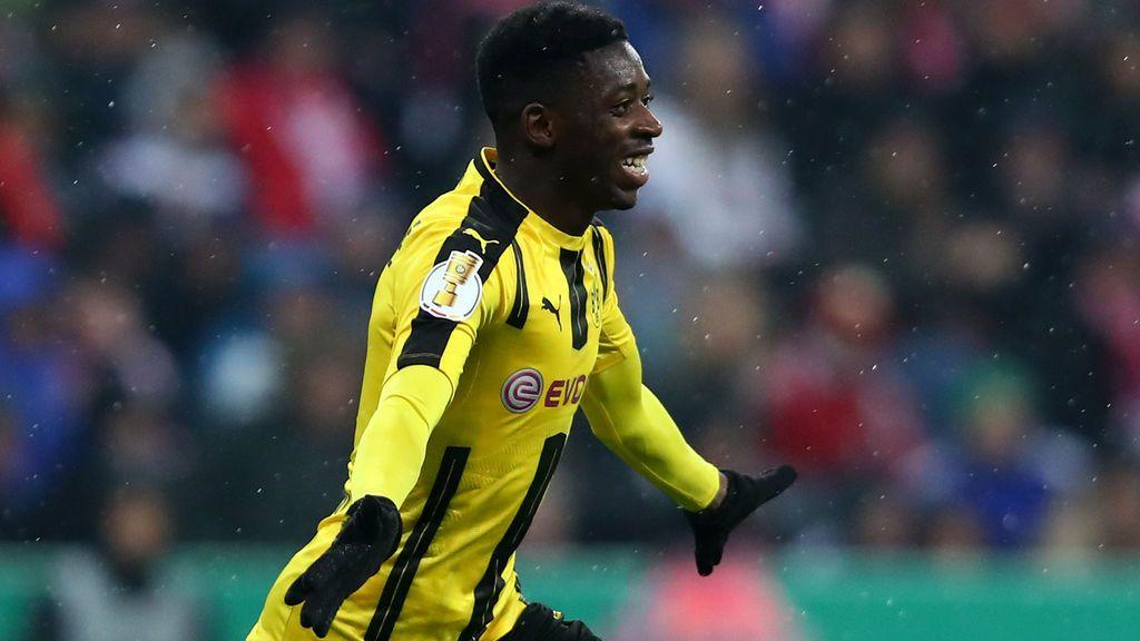 Dembélé presiona para ir al Barça y ya no es del Dortmund en redes sociales