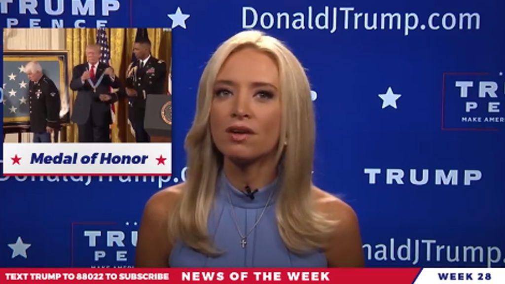 """Los vídeos de """"noticias reales"""" de Trump en Facebook alarman a los medios de comunicación"""