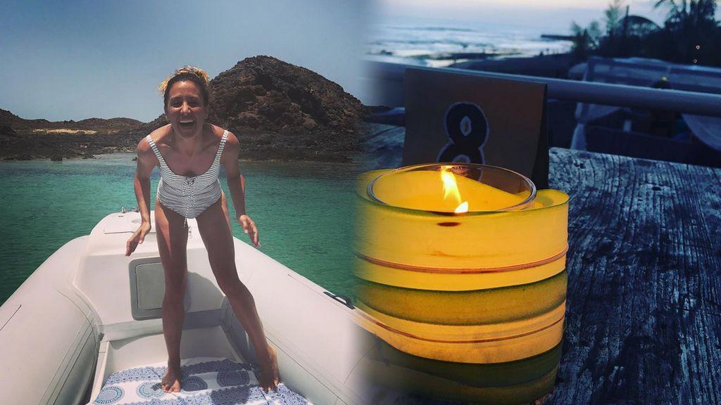 Sandra Barneda y Nagore, ¿días de relax en las Islas Canarias?