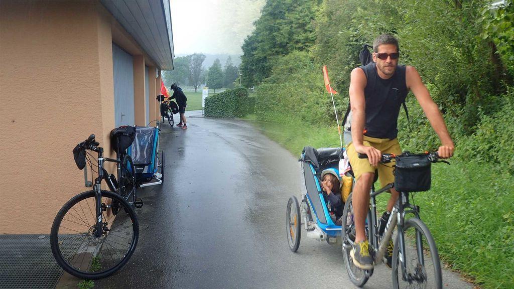 Ya puede lloverte o nevarte: los viajes en bicicleta merecen la pena por esto
