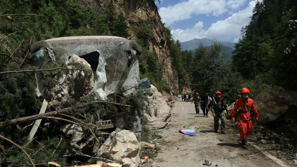 El terremoto de Sichuán (China) ha liberado una energía equivalente a la explosión de 31.550 toneladas de dinamita