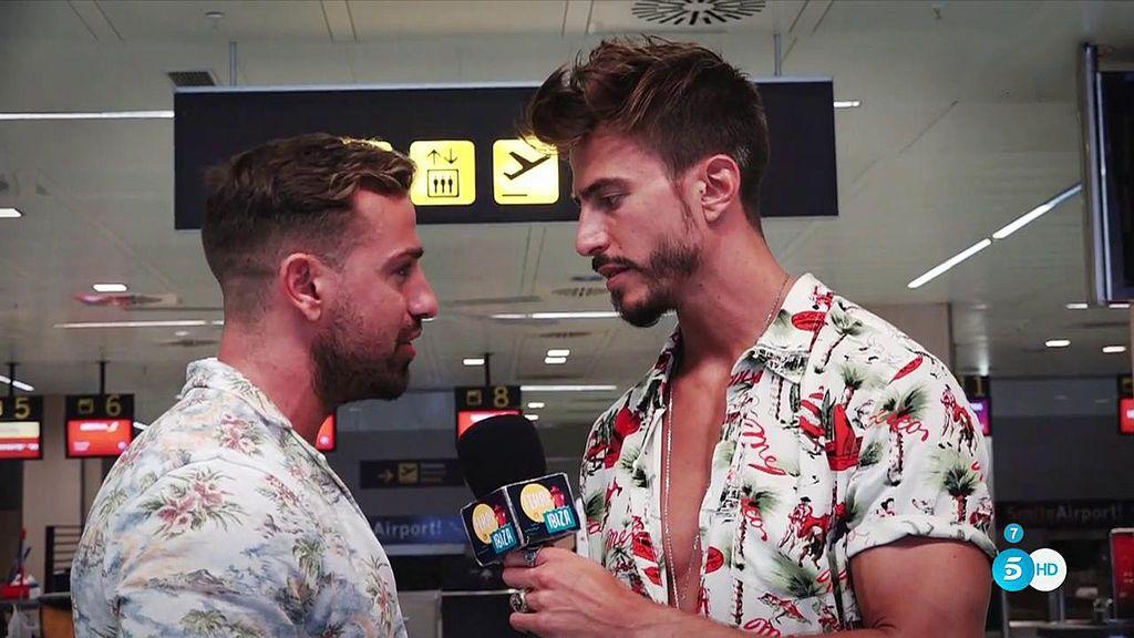 Rafa Mora visita en Ibiza a Marco Ferri para someterse a su desafío