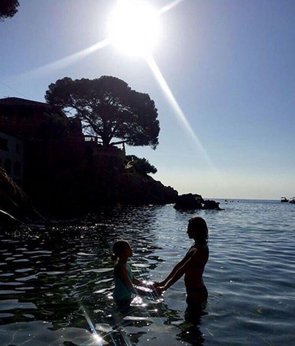 Las playas donde veranean los bebés 'vips'