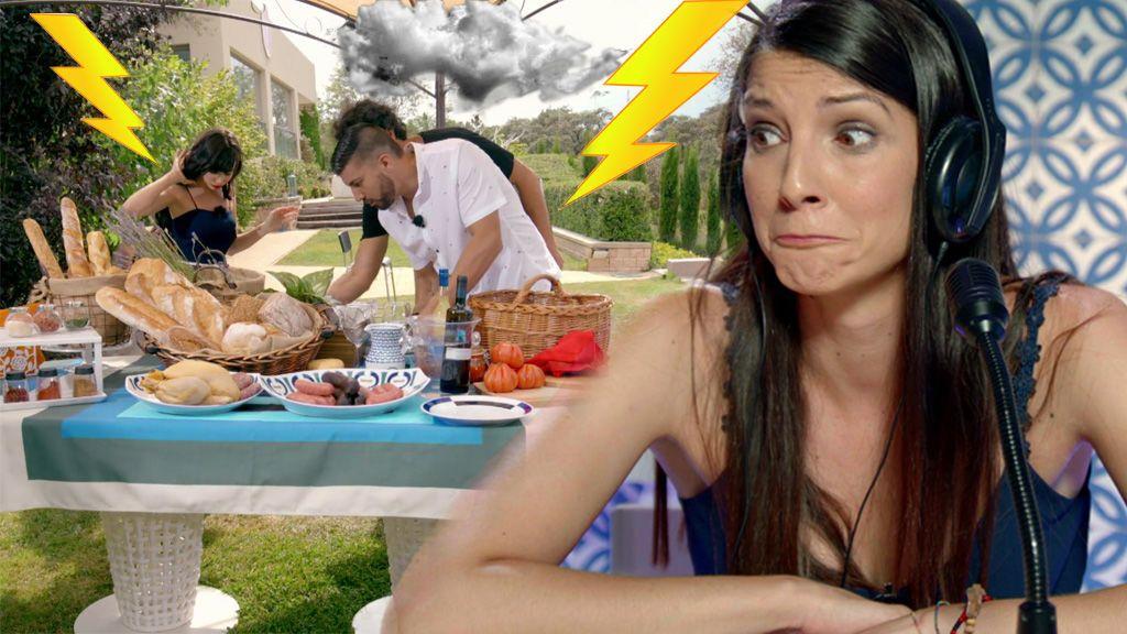 La mala suerte de Laura en el amor ¡detiene la grabación de su cita!