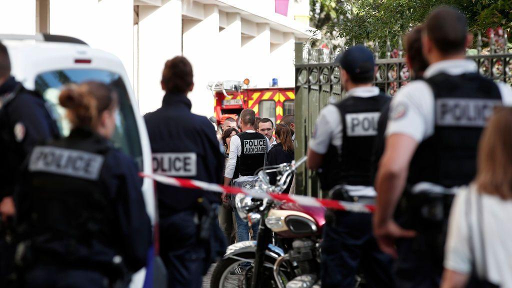 Atropello a militares en París