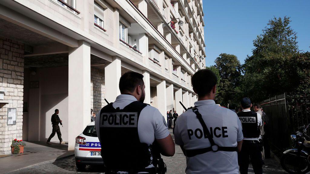 Detenido un hombre tras el ataque contra militares en las afueras de París