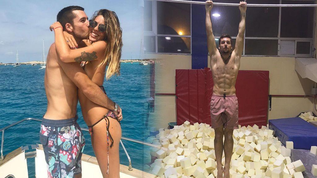Las mil caras de Benji Aparicio, el novio de Laura Matamoros