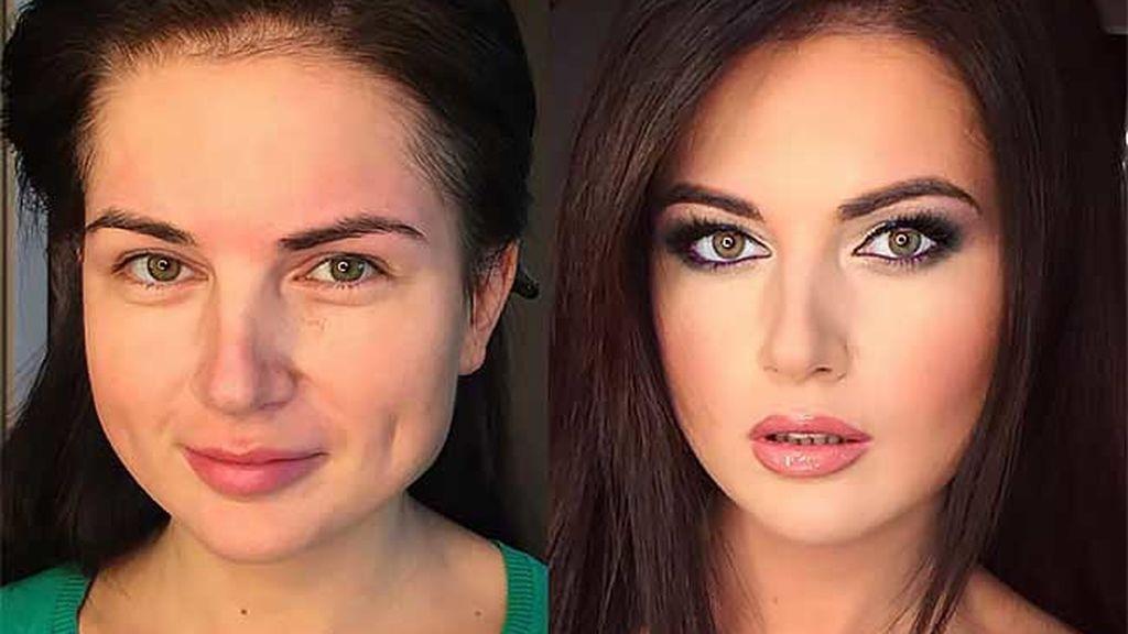 Un maquillador realiza impresionantes transformaciones