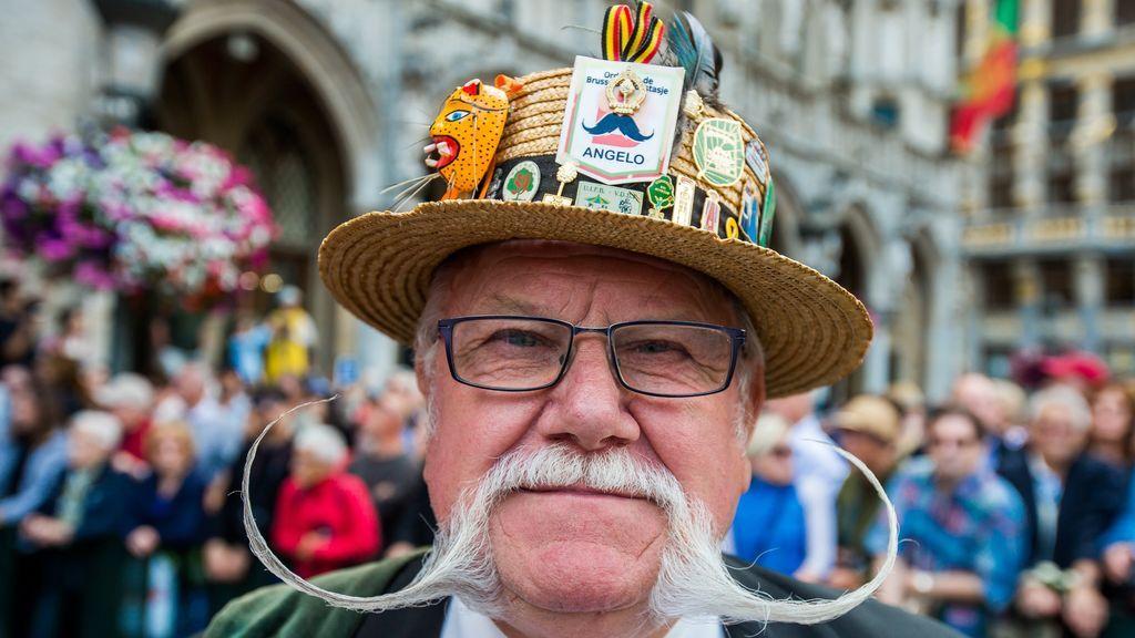 """La festividad del """"Meyboom"""" en la rue du Marais en Bruselas"""