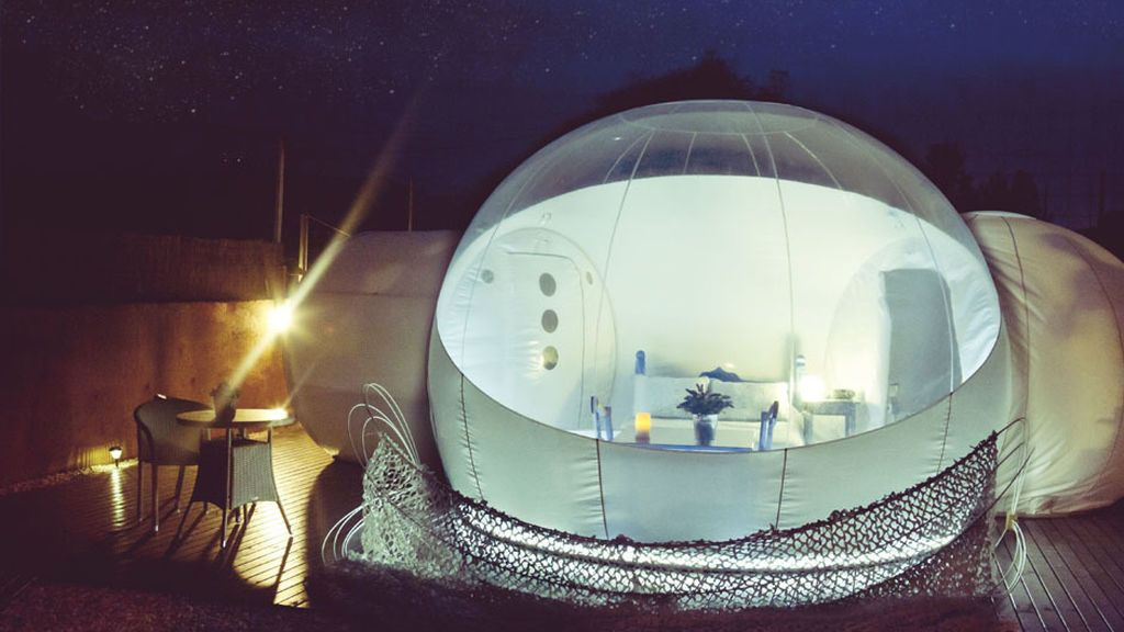 bubble rooms