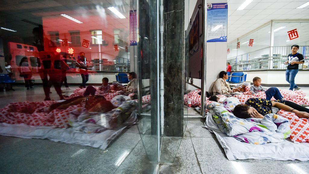 Consecuencias del terremoto en el oeste de China