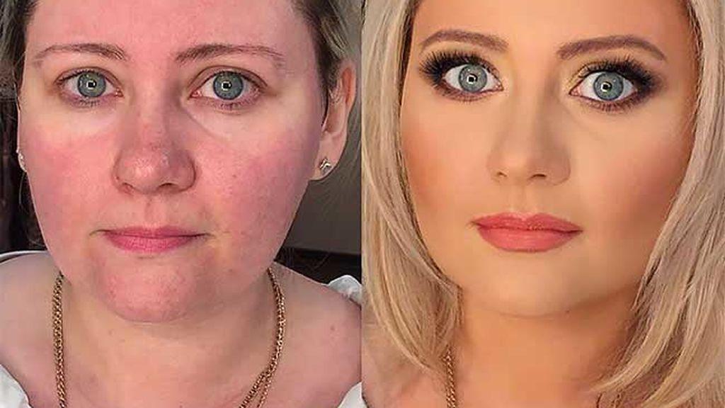Increíble transformación de un genio del maquillaje