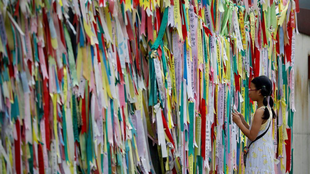 Mensajes por la unificación de las dos Coreas