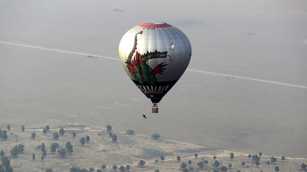 Festival Internacional de Globos Aerostáticos en el Desierto del Negev