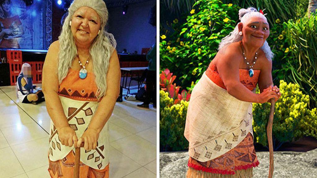 'Tía Sol', la madre brasileña que triunfa en los eventos de Cosplay
