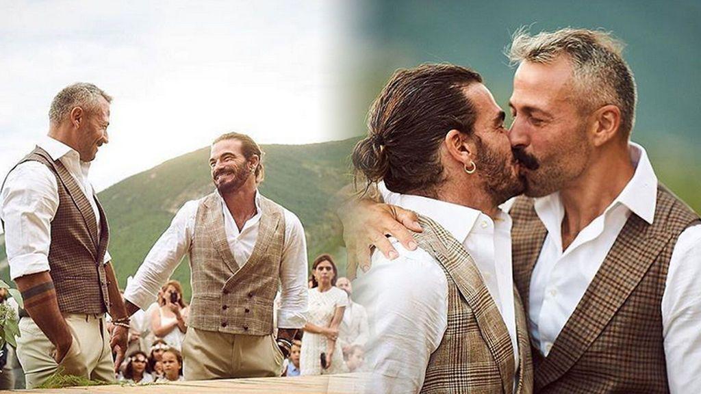 Valero Rioja, el fotógrafo de los vips, se ha casado: así ha sido su boda pirinea en familia