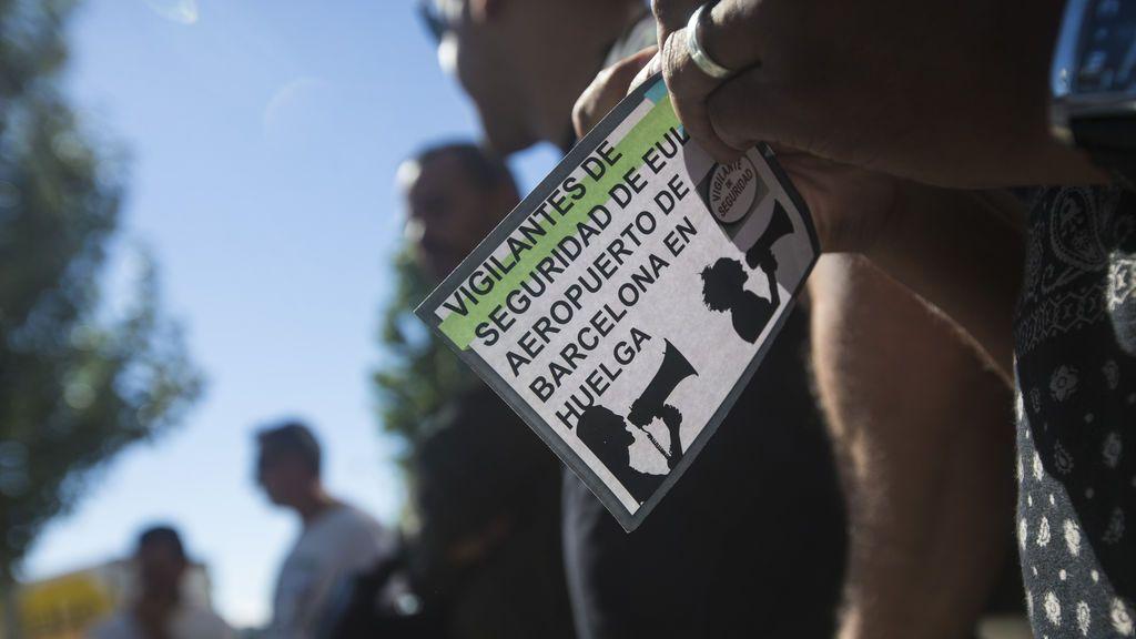 Nueva jornada de paros y gabinete de crisis en el Prat tras el no de los trabajadores de Eulen