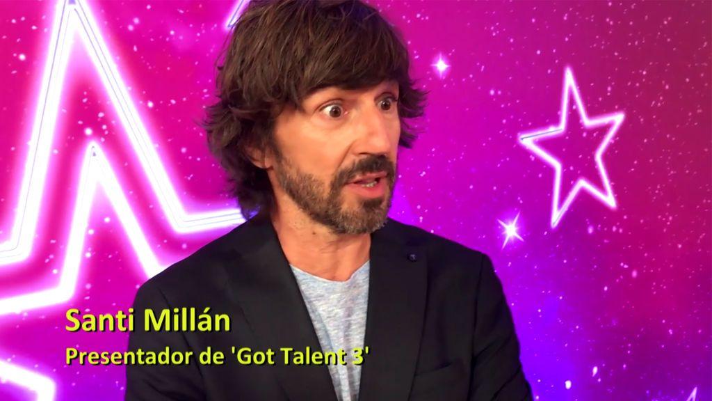 """Santi Millán, en 'Got Talent 3': """"Hay una actuación que ha emocionado hasta a Risto"""""""