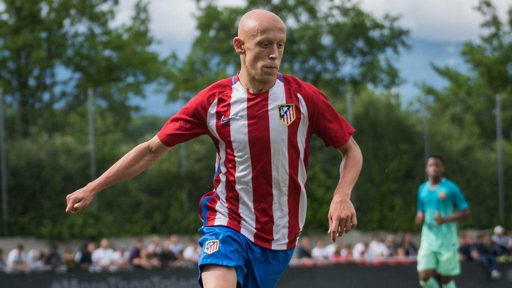 Victor Mollejo, el canterano de 16 años del Atlético de Madrid que debutó ante el Leganés