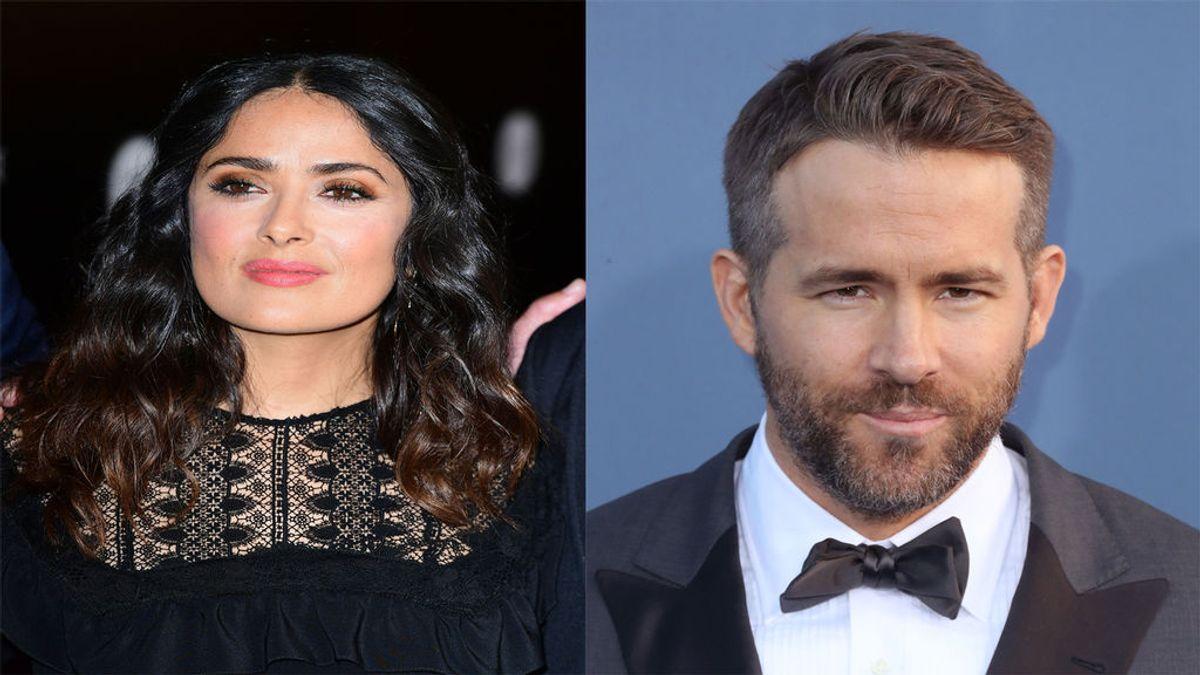 Ryan Reynolds invita a cenar a su casa a Salma Hayek y esto es lo que pasa