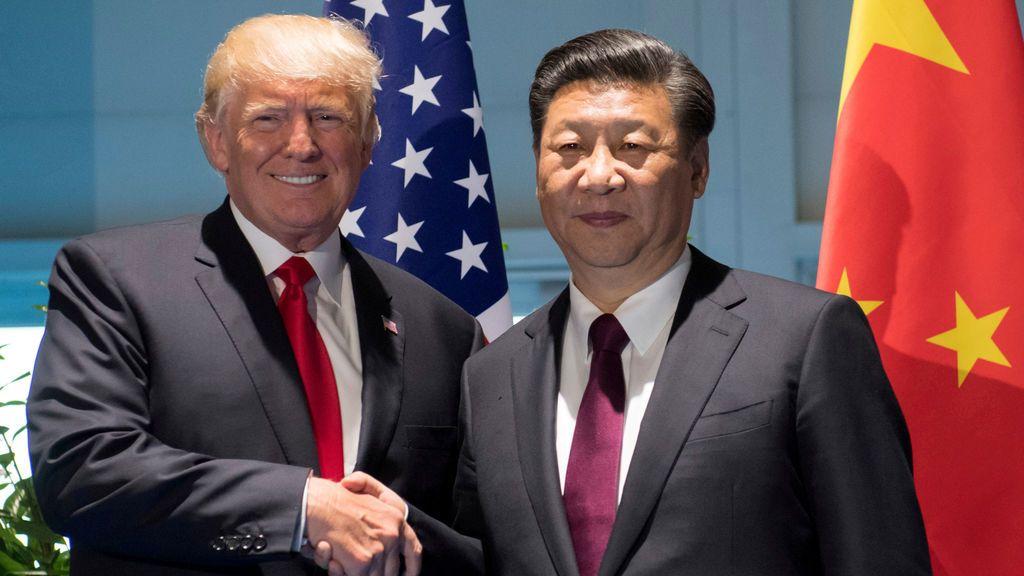 Trump y Xi Jinping en la cumbre del G20 en Hamburgo