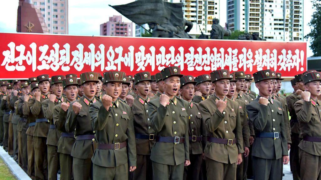 3,5 millones de norcoreanos quieren unirse al Ejército tras la amenaza de EEUU