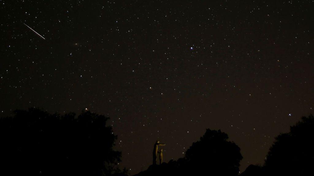 Lluvia de estrellas vita desde el parque natural la Sierra de las Nieves