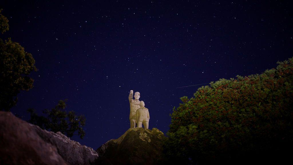 Lluvia de estrellas vista desde el Parque Natural de la Sierra de las Nieves en Ronda