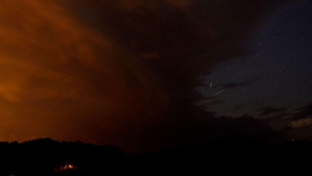 Lluvia de estrellas vista desde Macedonia