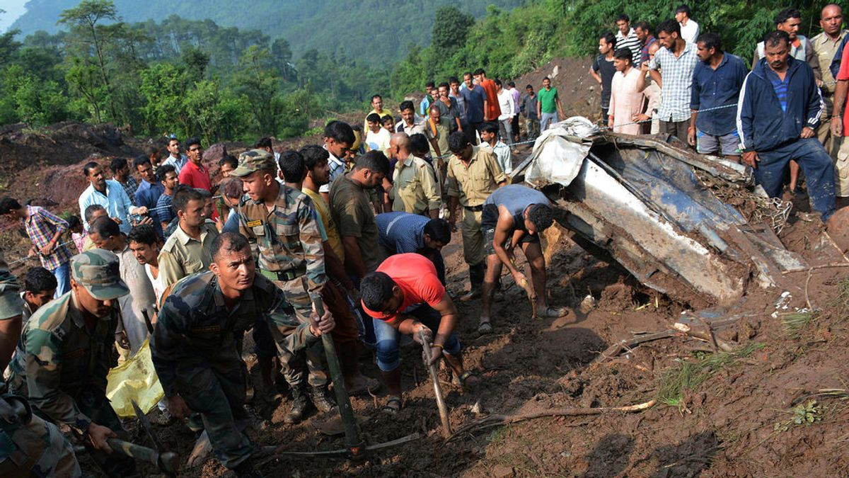 47 muertos y varios heridos por un desprendimiento de tierra en el norte de India
