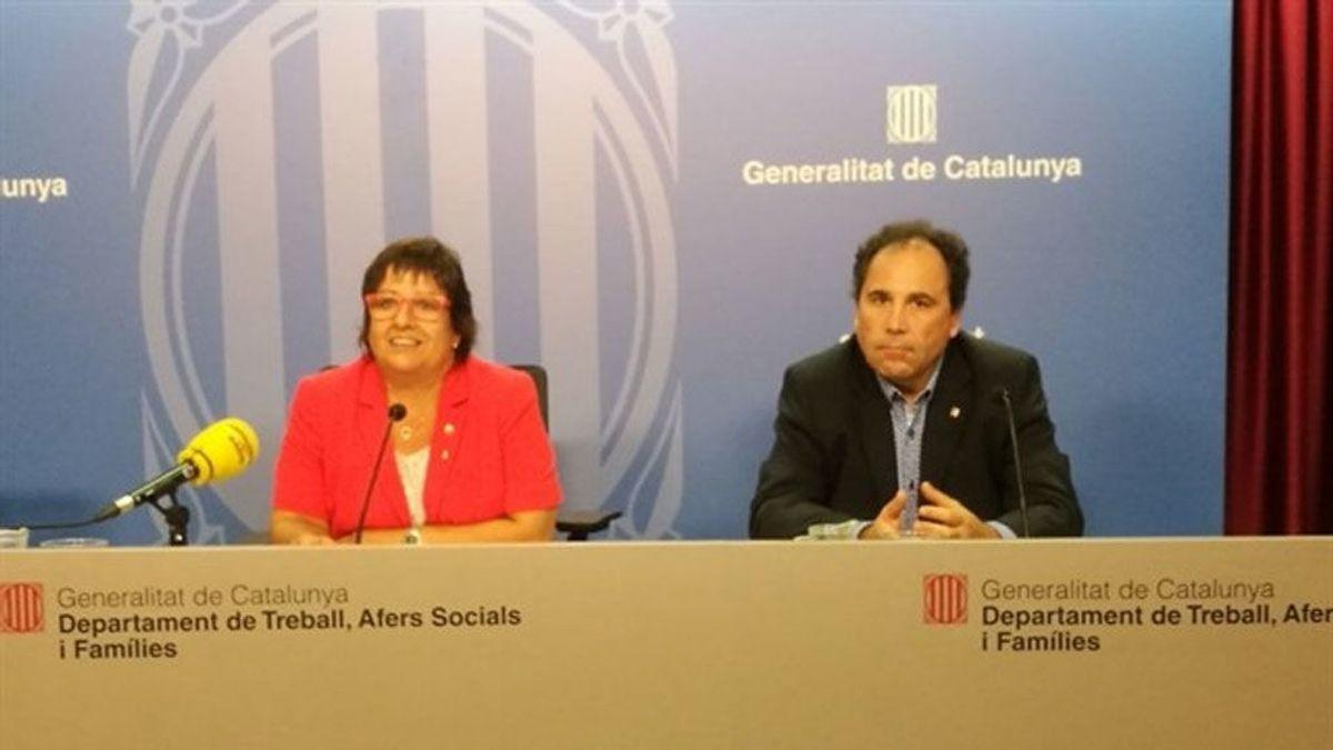 """La Generalitat acepta la votación de la plantilla de Eulen y se abre a negociar """"toda la noche"""""""