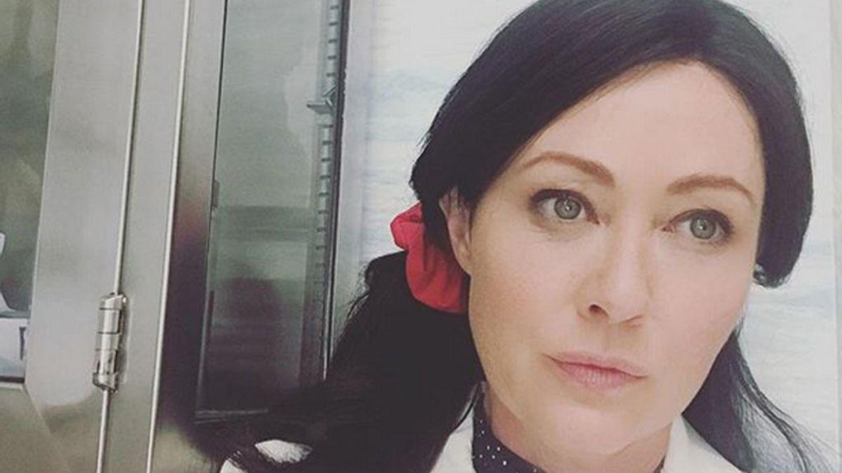 Shannen Doherty vuelve al trabajo tras dos años de lucha contra el cáncer