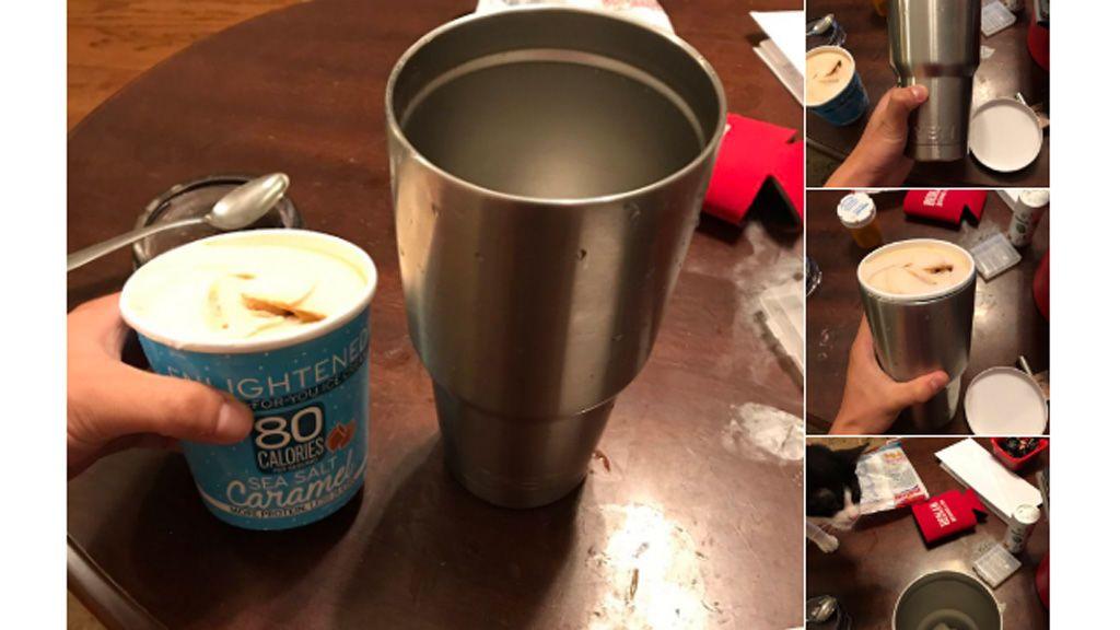 El truco para hacer que tu helado no se derrita que se ha hecho viral