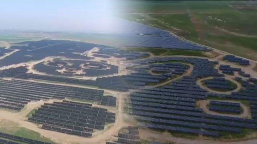 ¿Una planta solar con forma de oso panda gigante? Energía eco con guiño para los más jóvenes