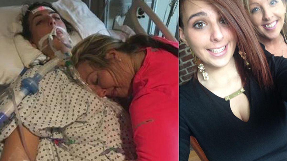 Una madre muestra el doloroso final de su hija, muerta por sobredosis