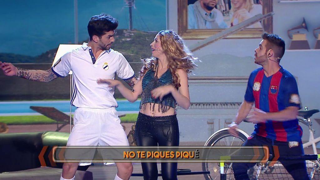 Momentazo: ¡Roser y David se convierten en Shakira y Piqué! (y nos confiesan algo sorprendente)
