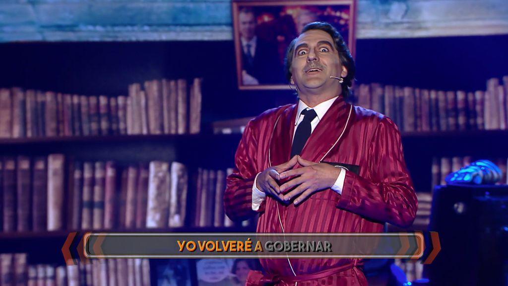 ¿Es José María Aznar? ¡No, es Javi Martín dejándonos K.O. con su actuación!