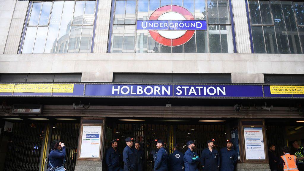 Cerrada una estación del metro de Londres por una alerta de incendio