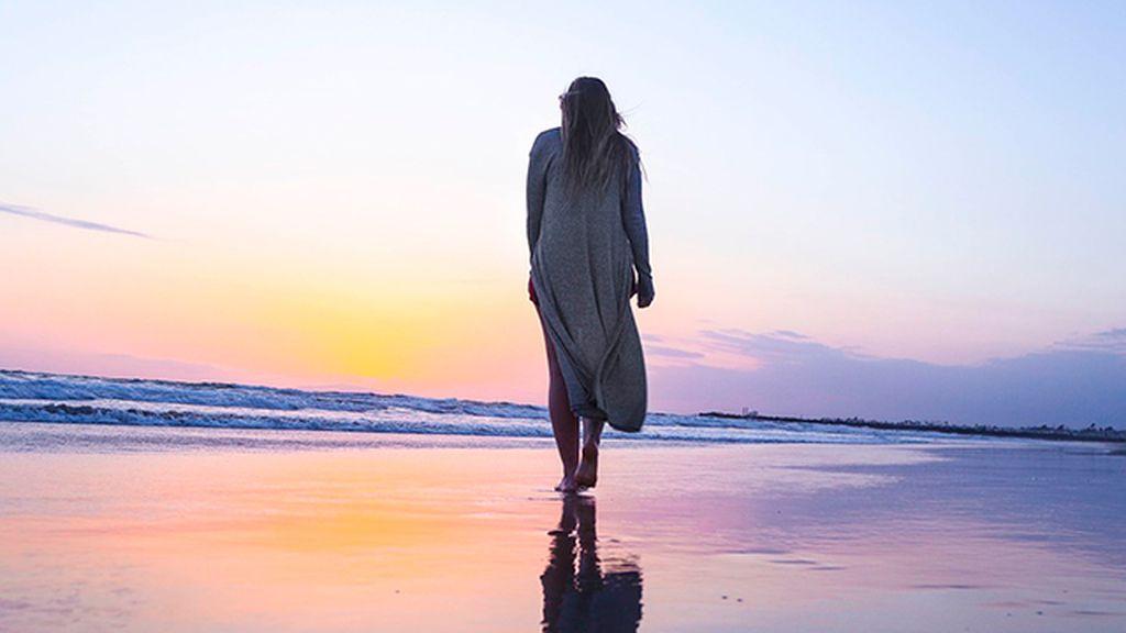 caminar por la playa