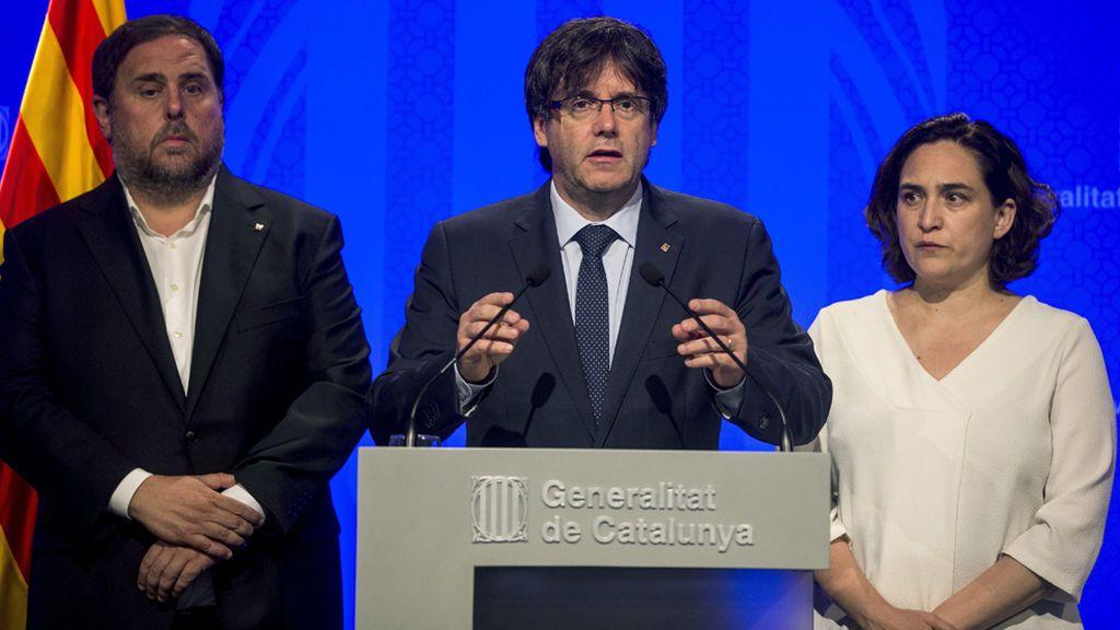 Carles Puigdemont confirma dos detenciones tras el ataque terrorista en Las Ramblas