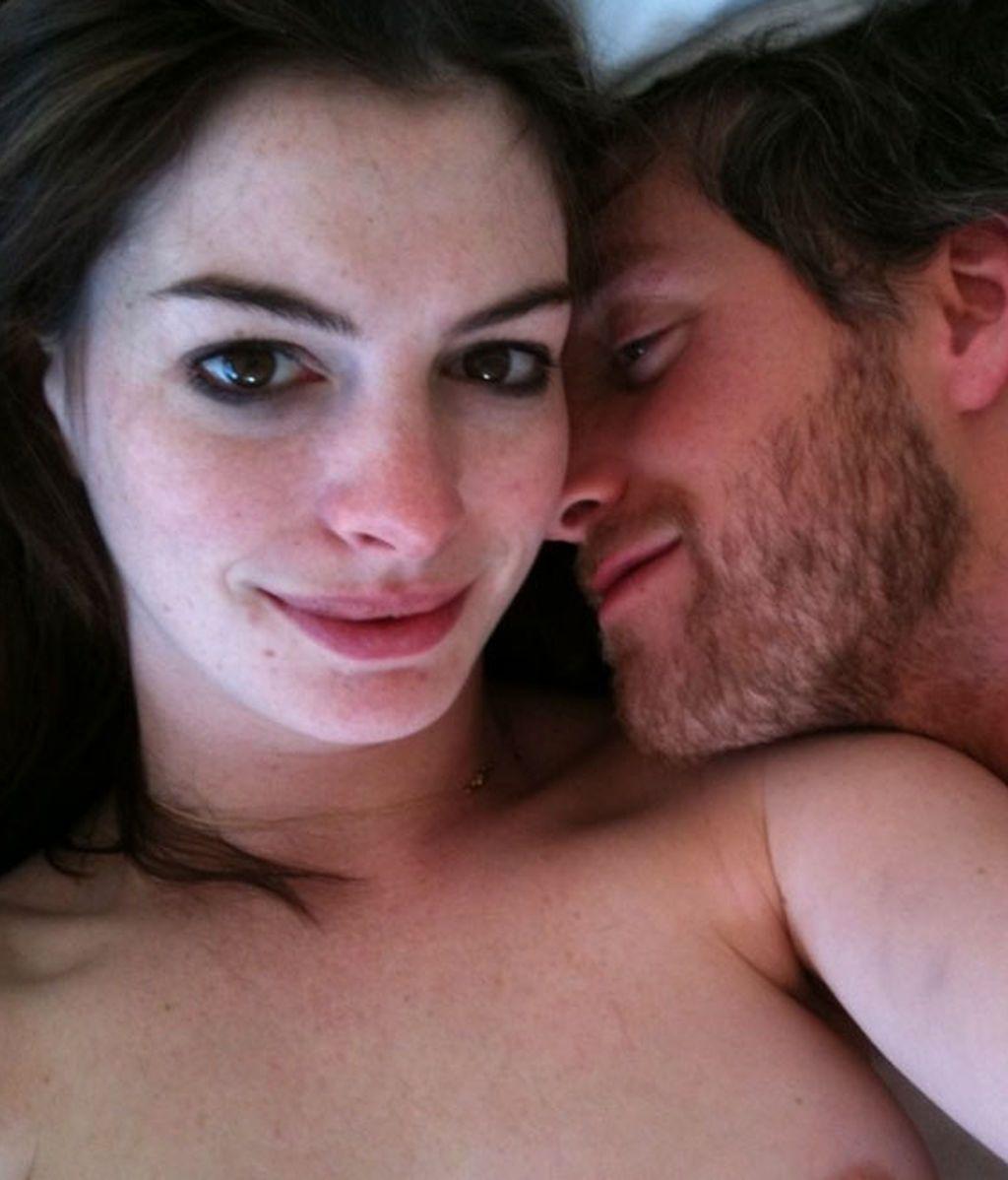 Las fotos 'hots' de  Anne Hathaway , colgadas en una web pornográfica