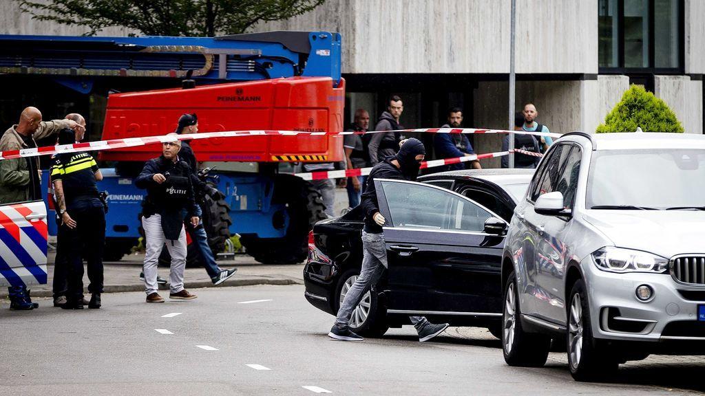 Se resuelve sin violencia el secuestro de una emisora de radio en Holanda